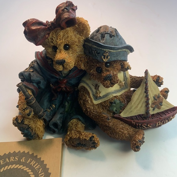 VNTG Boyds Bears - Elvira and Chauncey Shipmates